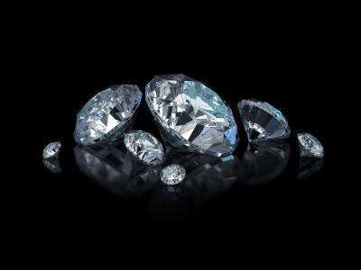 Björg smycken innehåller äkta ädelstenar - bl.a. diamanter